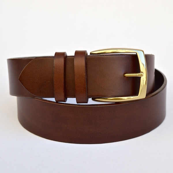 Brown Casual Belt, 4cm