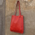 Orvieto Tote, Red (side)