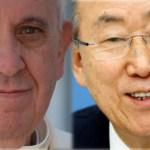 El papa y el secretario general: dos referentes tendenciosos