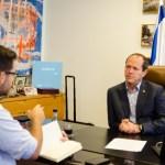 "Nir Barkat: ""Jerusalén tiene una filosofía integradora"""