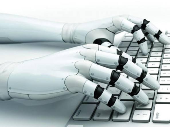 robot scrittore