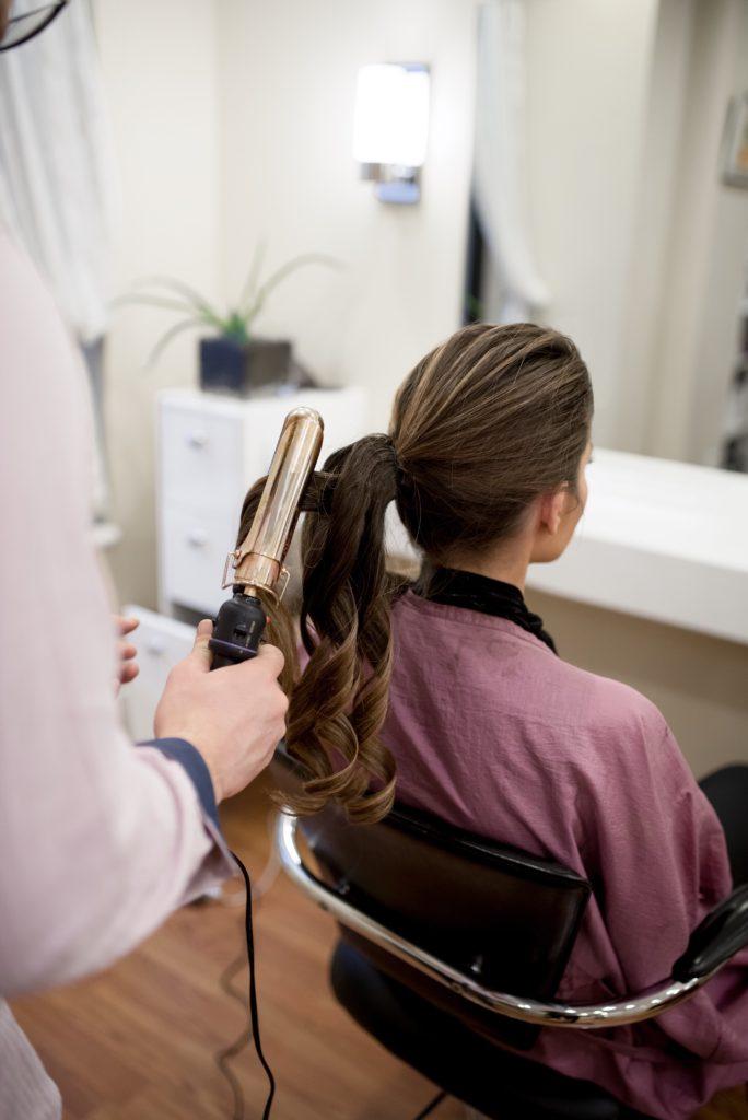 Christine Tarver at Federico Hair & Spa at The Benjamin