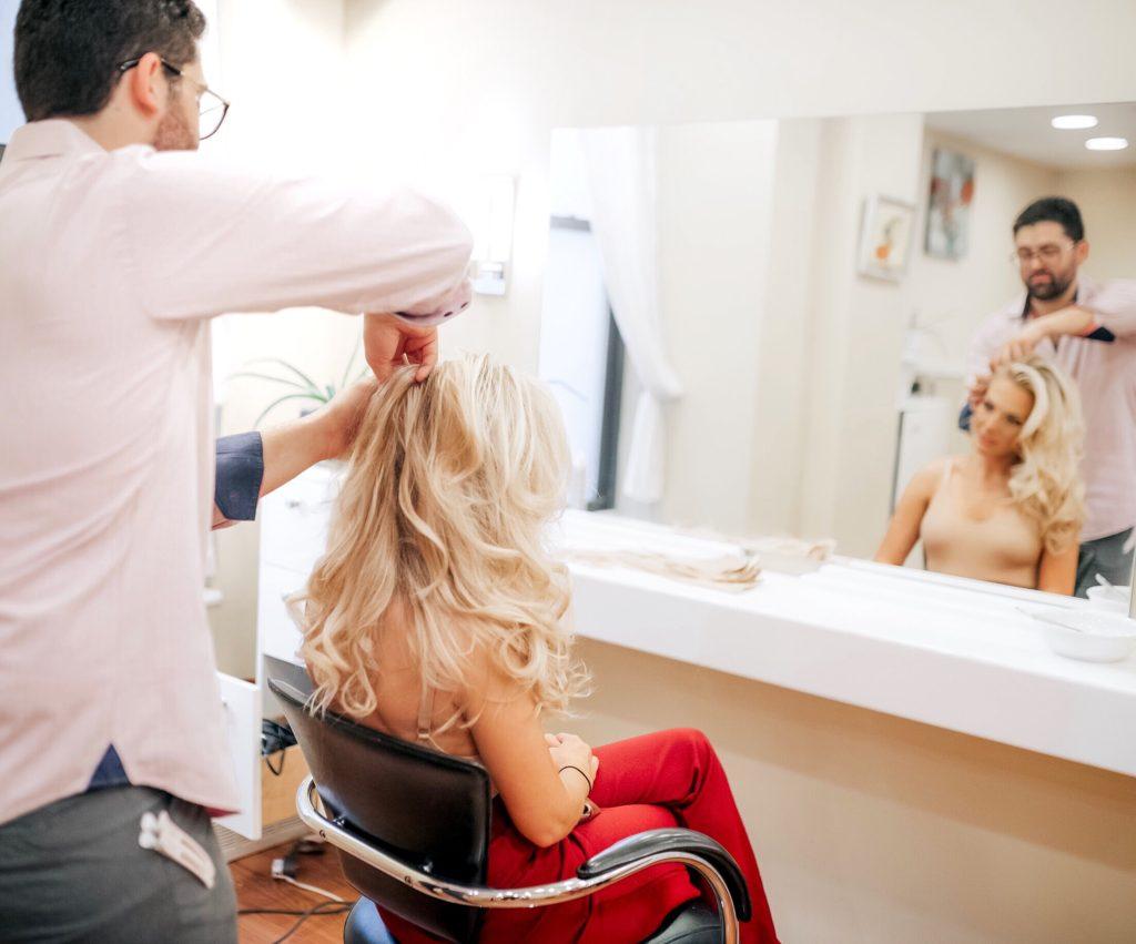 Jessika Chaconas See at Federico Hair & Spa at The Benjamin
