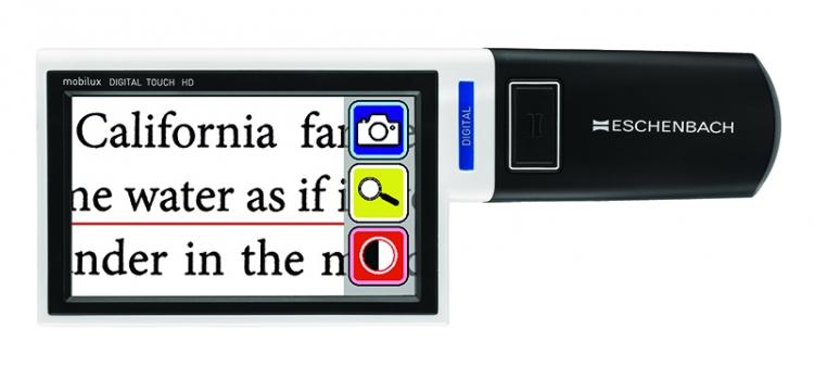mobilux DIGITAL Touch HD federopticos lukus