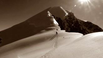 Weissmies, Alpes suizos.