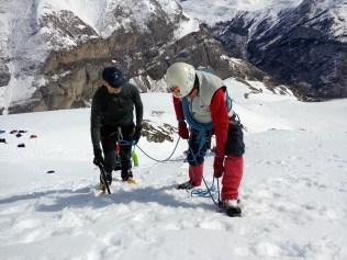 Curso de alpinismo en Gavarnie.