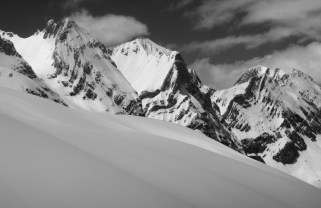 Tendenera con skis