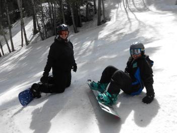 Snowboarding in Sipapu