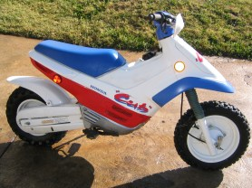 "My first ""real"" motorcycle. It was a cheap dirt bike that was awesome to learn on."