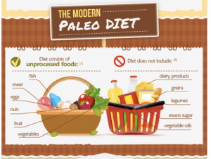 Paleo Diet Food Graphic