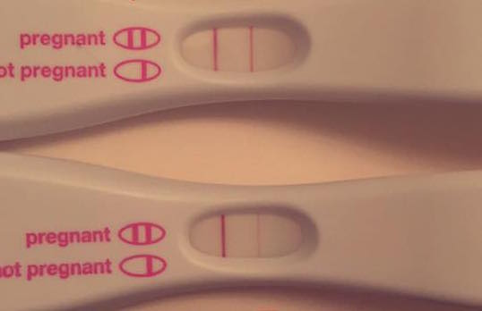 two positive pregnancy tests