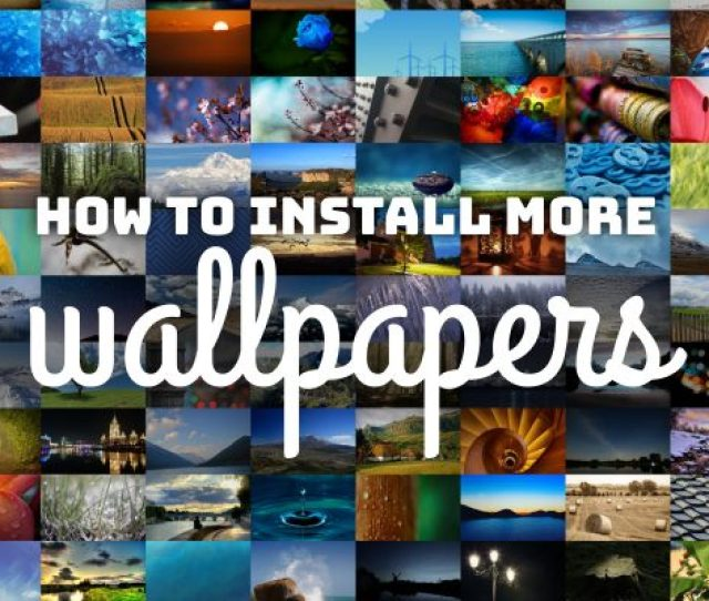 How To Install More Wallpaper Packs On Fedora Workstation