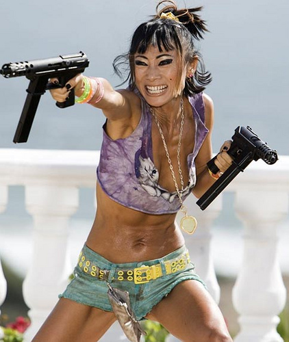 Bai Ling In Crank with Jason Statham