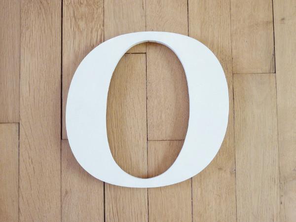 Lettre O majuscule