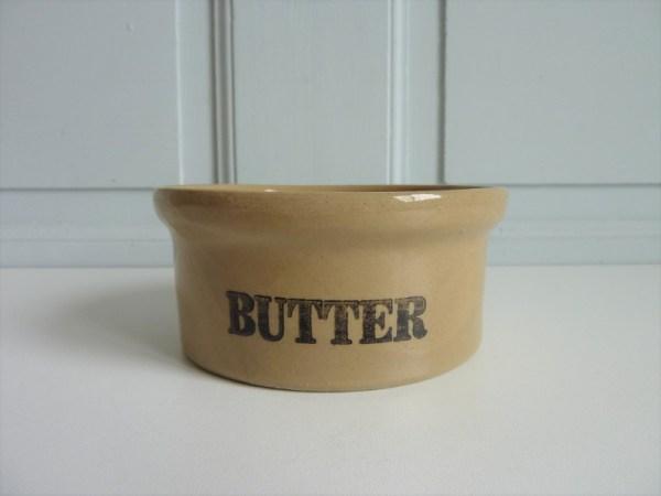 Ramequin Butter england grès
