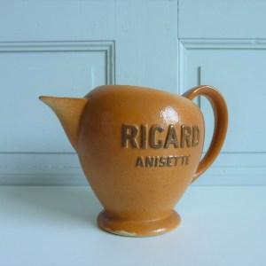 Pichet Anisette Ricard en grès