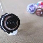 Reglisse Crochet Ring