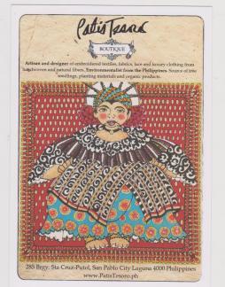 Patis Tesoro Boutique post card
