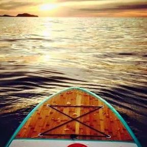 paddling out