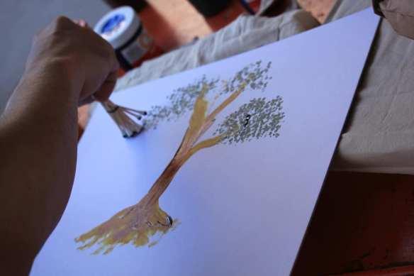 kids painting activity