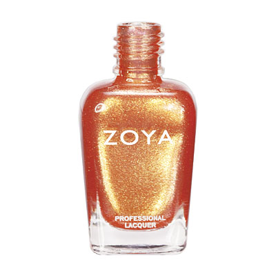 A bottle of ZOYA Tanzy.