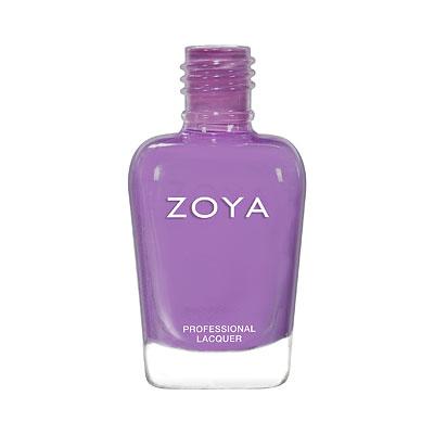 A bottle of ZOYA Delia.