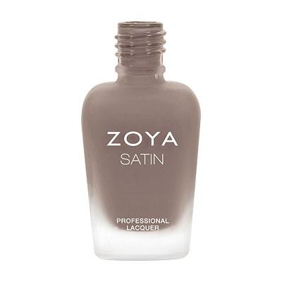 A bottle of ZOYA Rowan in the Satin finish.