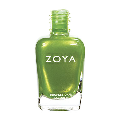 A bottle of ZOYA Midori.