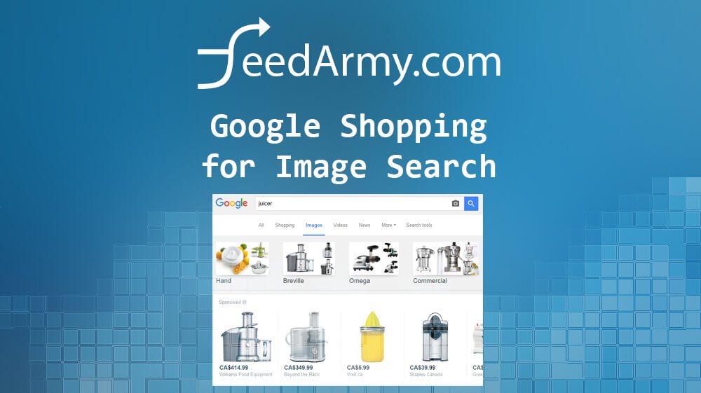 Google Shopping for Image Search