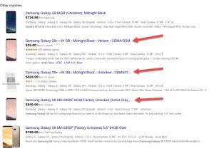 Google Shopping Grouped Listing