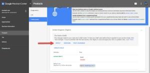 Google Merchant Apply Feed Rule Changes