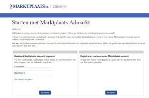Admarkt Create Account