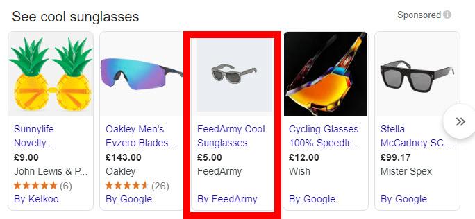 Google Shopping Wrong Pricing