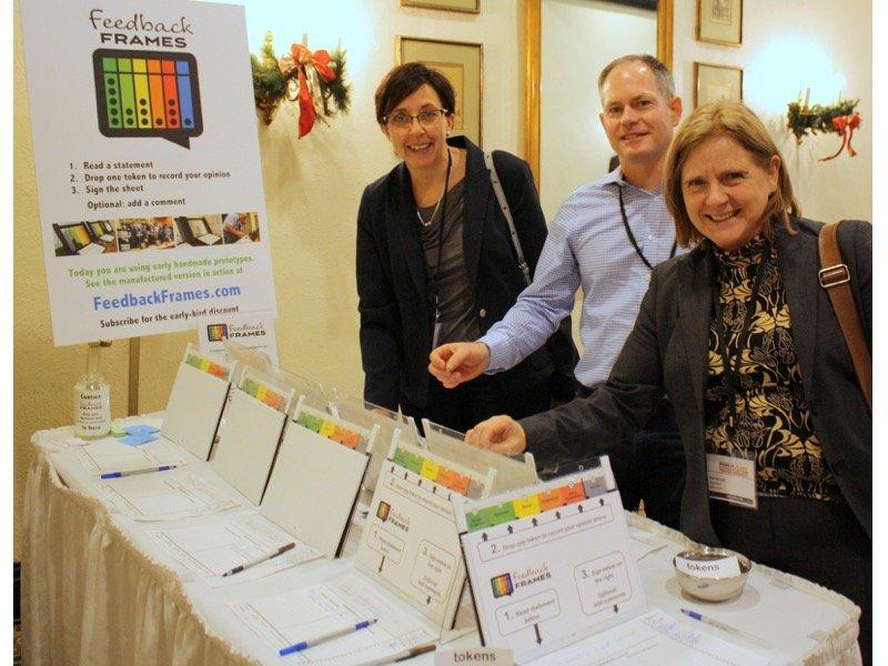 Feedback Frames at Public Consultation Summit
