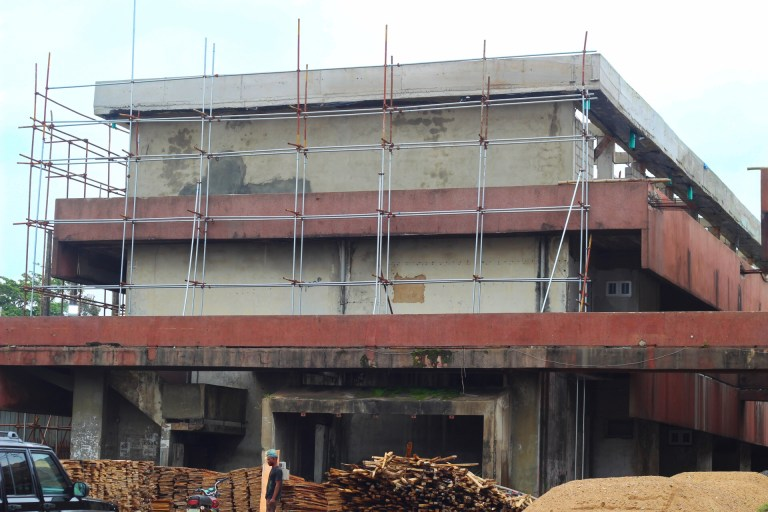 Picture of Agbowo Shopping Complex, Ibadan remodelling taken on August 09, 2021