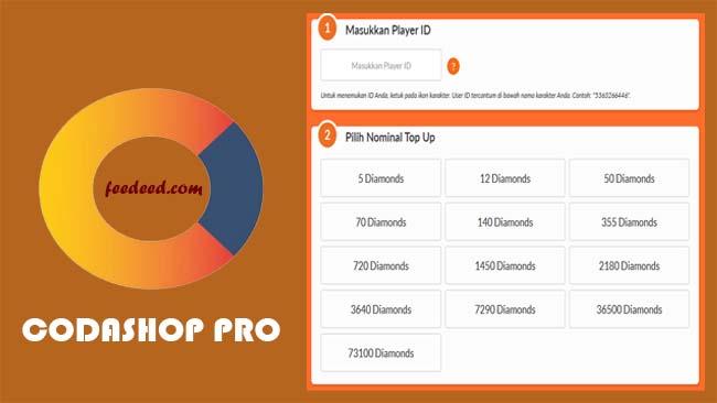 Download Codashop Pro Apk FF, ML & PUBG Versi Terbaru 2020
