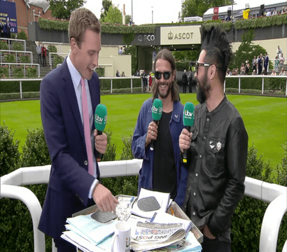 Feeder on ITV Racing!