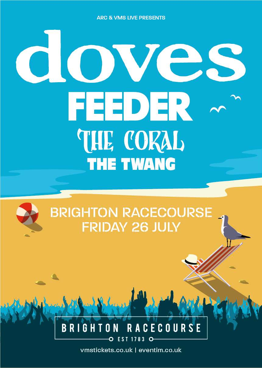 Feeder playing with Doves and The Coral