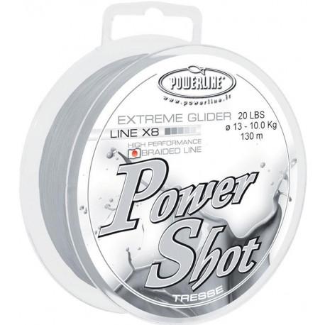 tresse feeder power shot 8 brins 130m powerline