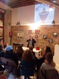 Conferencia de Ana Rossetti sobre la figura literaria de Maruja Mayo