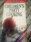 first cookery book when I was growing up...