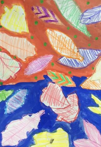 Miss Little's Leaf Art Lesson