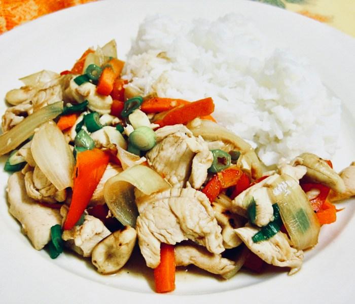 Chicken and Cashew StirFry