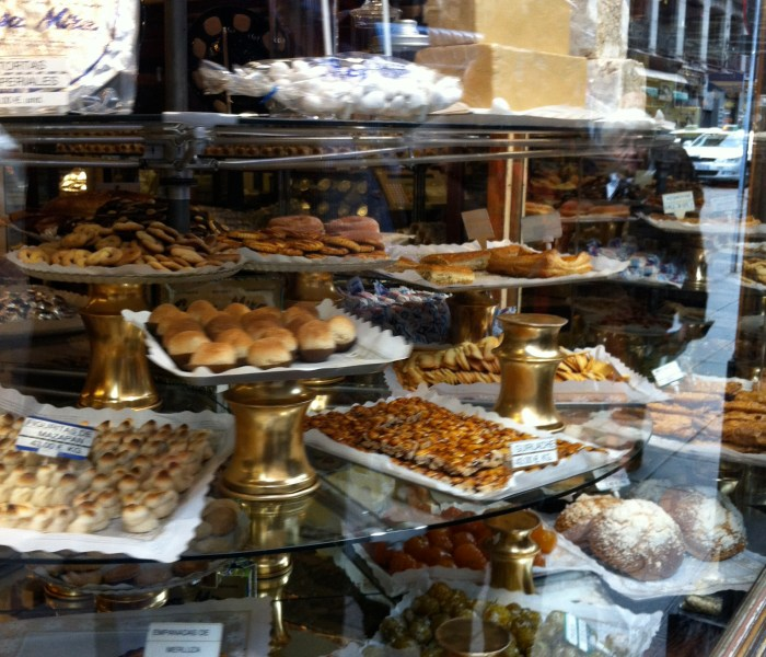 The food in Madrid