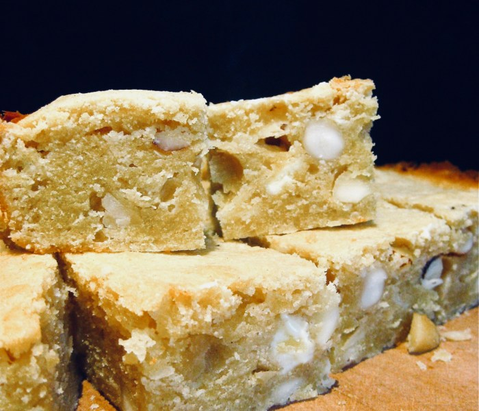 White Chocolate Blondie