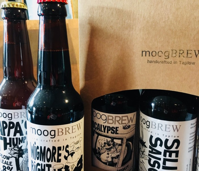 Local Food (and Beer) Hero: Taplow's Moog Brew