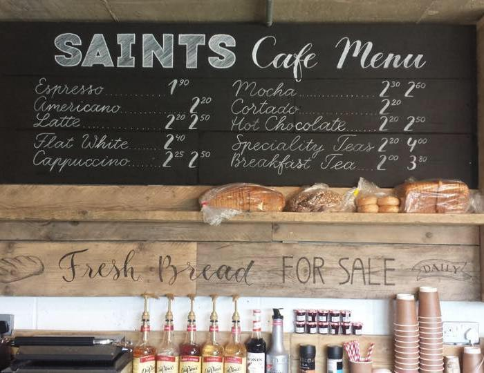 Saints Cafe; Maidenhead