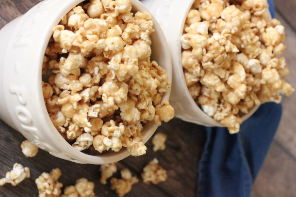 Delicious Homemade Caramel Popcorn is a delicious treat for any occasion!!