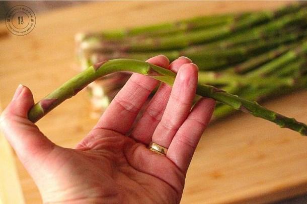 folding asparagus