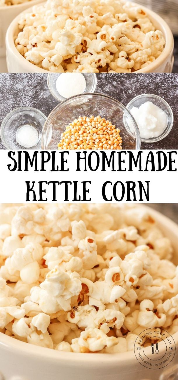 kettle corn pin